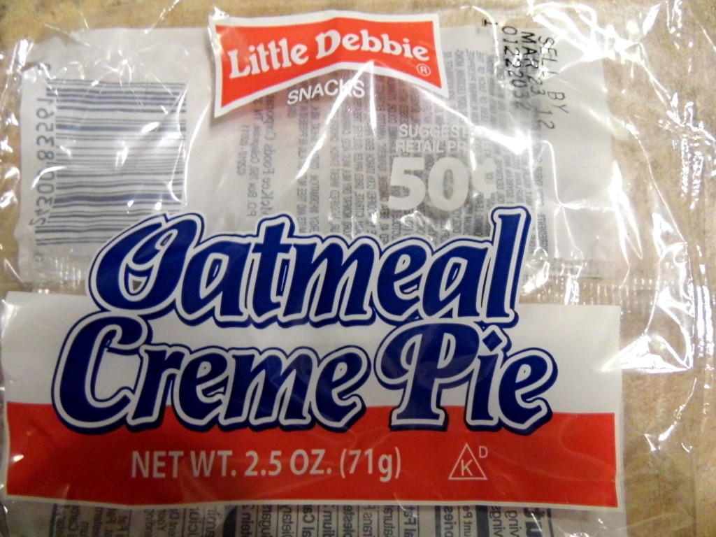 oatmeal cream pie's are 50 cents